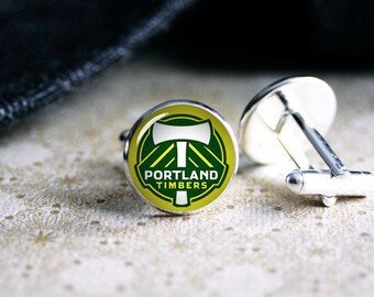 Portland Timbers soccer team  cufflinks