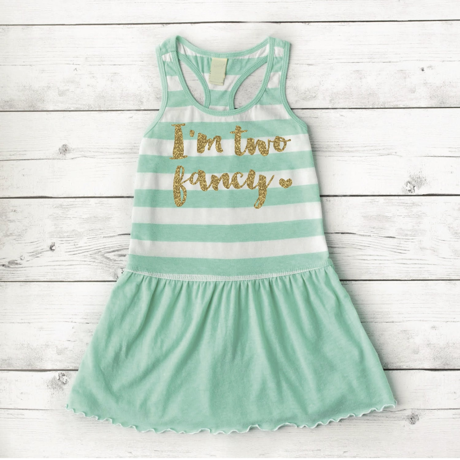 2nd Birthday Outfit Girl I m Two Fancy Girl Summer Dress