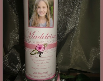 Personalised Communion / Confirmation Candle