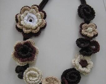 Crochet Romantic Necklace