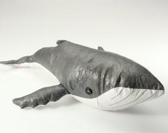 Stuffed Humpback Whale