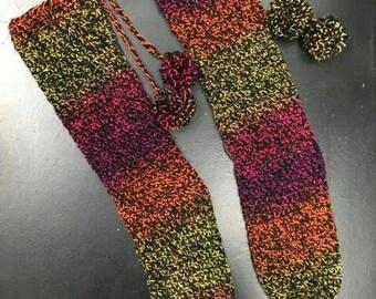Handmade Crochet Slipper Socks