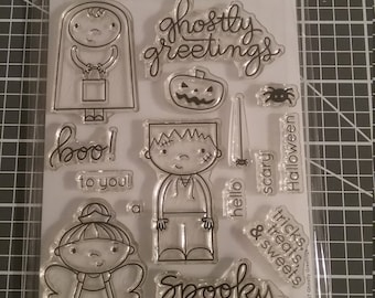 Simon Says Stamp - Ghostly Greetings
