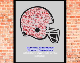 Helmet... Typography Art