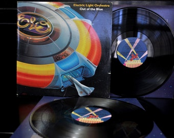 Electric Light Orchestra, Out of the Blue, Original 2LPs Gatefold Cover