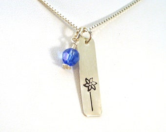 Pinwheel Necklace, Child Abuse Prevention and Awareness Pinwheel Jewelry