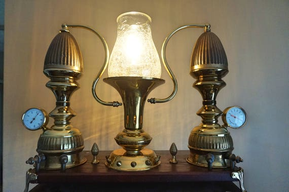 Machine Age Steampunk Collectible Lamp