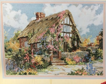 Marty Bell's Wepham Cottage Cross Stitch Pattern