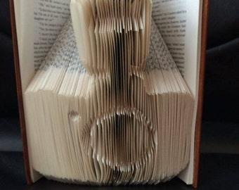 Camera Book Folding Pattern (measure mark and fold)