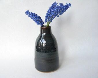 Bud Vase, Small Neck Vase, Ceramic Bud Vase, Small Pottery Vase