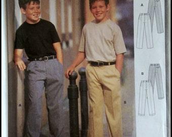 Burda 2742  Boys Pants   Size (9-14)  UNCUT