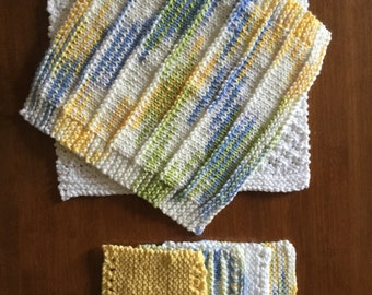Cotton Dishcloths and Coasters