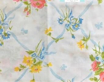 Vintage Floral Pillowcase
