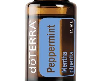 Doterra Peppermint Essential Oil 15mL bottle