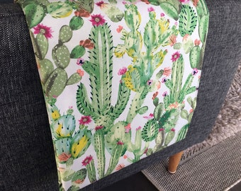 Stokke/Standard/Bassinet Fitted Sheet - Large Cactus