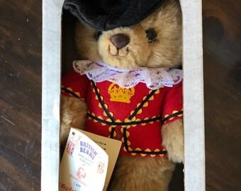 British Bears' Beefy Bear New In-Box (<3s fish & chips)