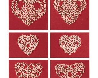 Tatting Hearts, by Teri Dusenbury (Tatting Patterns)