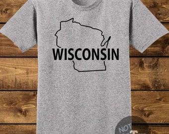 Wisconsin Handmade Shirt, Best Selling Item, Top Seller, Top Selling Item, Top Sellers, Top Selling, Wisconsin Shirt, SKU - 625