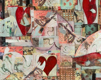 At the Heart of the Matter (Heart of the Matter Series) - Limited Edition Giclée Print