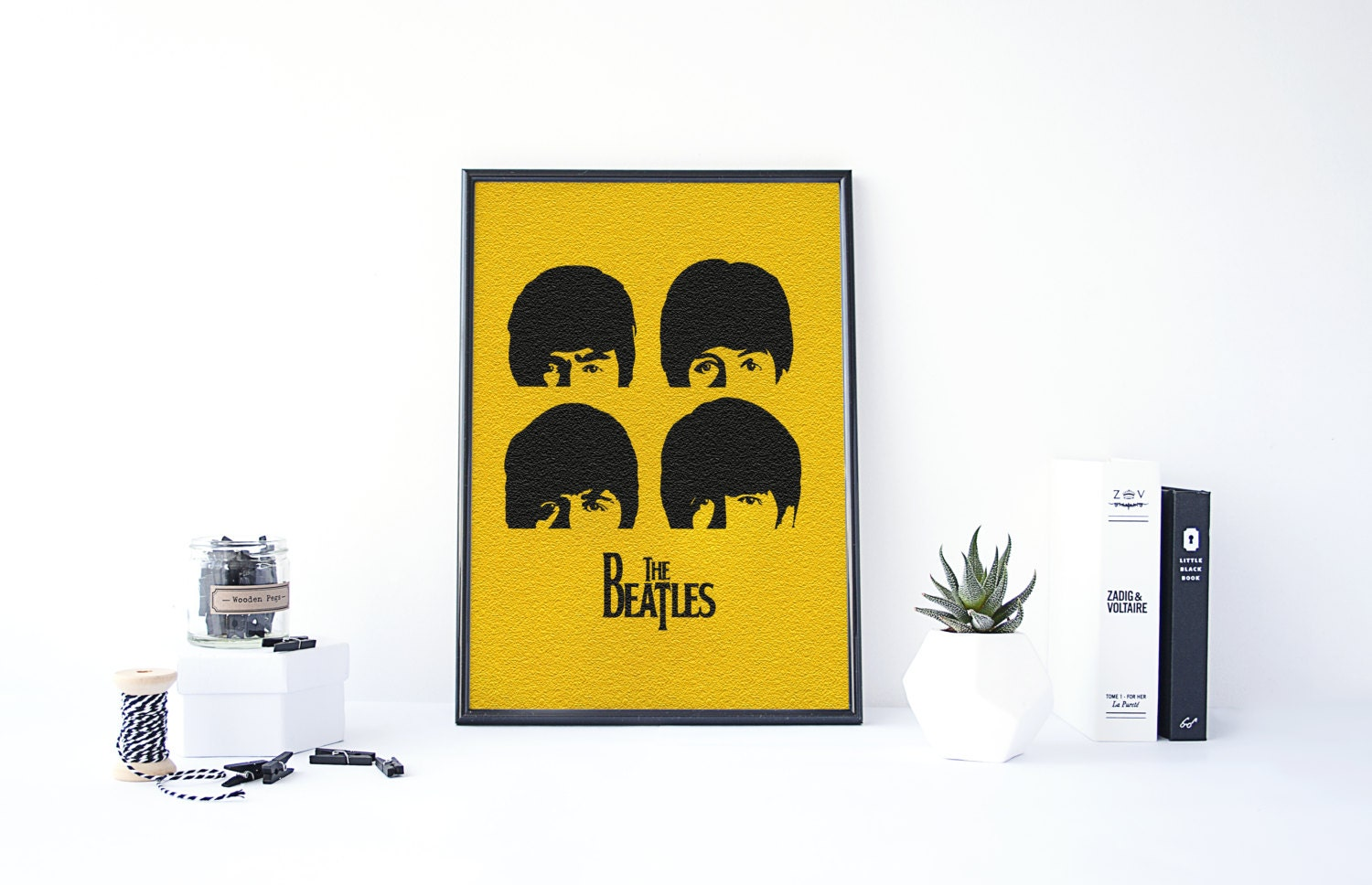 Awesome The Beatles Wall Art Contemporary - The Wall Art Decorations ...