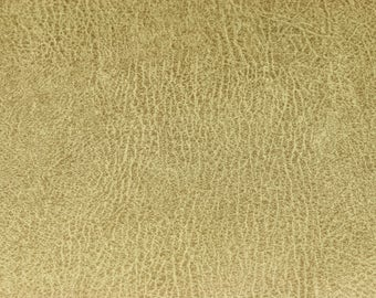 Beige faux leather with antique look Maro (14.50 EUR / meter)