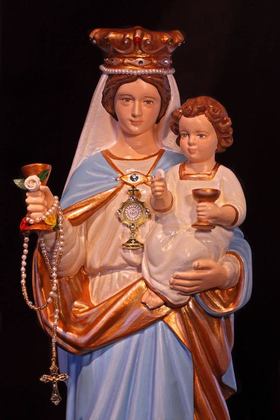 """Our Lady of the Most Blessed Sacrament and the Infant Jesus 16"""""""