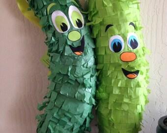 Green Pickle Piñata!