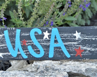 USA handmade, custom, rustic, pallet sign