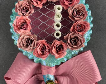 flower girl wand || fairytale wedding || wedding wand || flower girl proposal || floral wand || baroque wand || customized wand