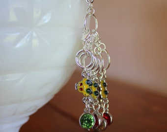 On the Road Again Stitch Markers for Knitting and Crochet - Set of 6