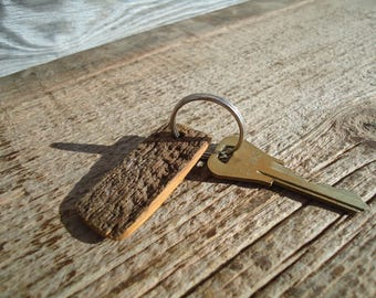 Barn board key chain - Wood key chain - Rustic Barn board - Wooden key chain, Barn board, Key chain, Wood Key chain, Salvaged Barn board