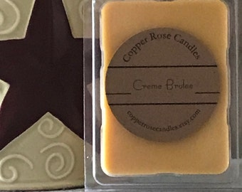 Creme Brulee Wax Melts and Candles