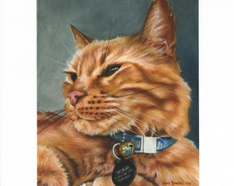 """Limited edition giclee print, """"Norm"""" signed and numbered"""