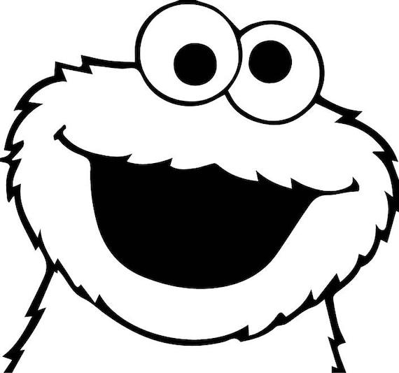 cookie monster svg elmo svg monster svg cookie monster rh etsy com cookie monster clipart free cookie monster clipart black and white