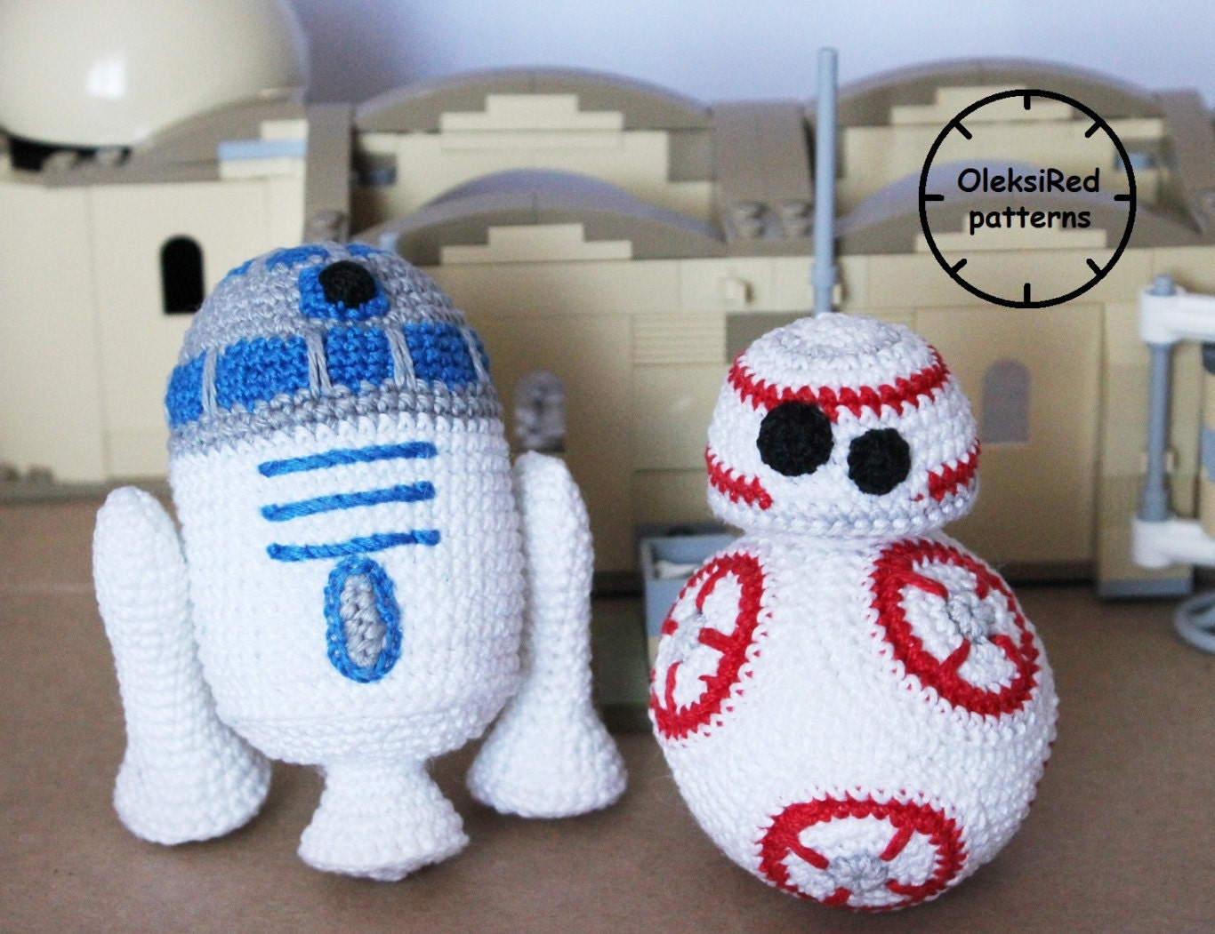 Amigurumi Star Wars Patterns Free : Star wars crochet patterns characters bb and r d amigurumi
