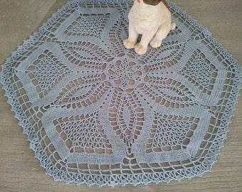 napperon octogonal crochet