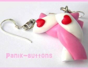 Bo baby Marshmallow heart handmade