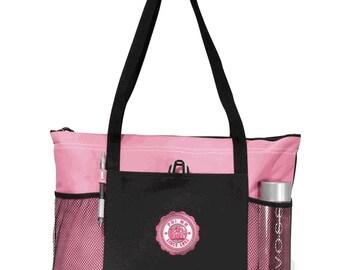 Phi Mu Venture Emblem Tote Bag