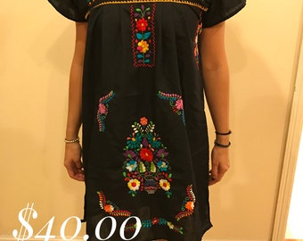 Dress hand embroidery