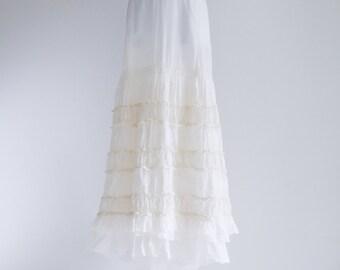 Double Layered, Ruffled Dream Petticoat- Sz S - L