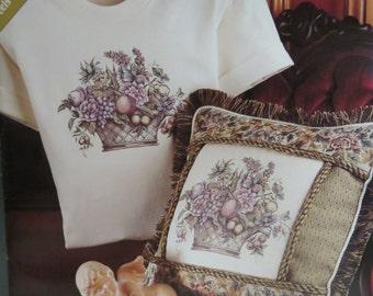 Daisy Kingdom Transfer Treasures Fruit Basket/ Iron On Transfer/ Image Transfer/ DIY/ Handmade/ Crafts