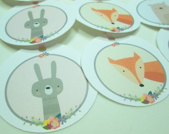 Sweet Critters Gift Tags