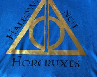 Hallows not Horcruxes tshirt