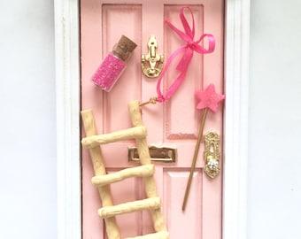 Fairy Door, Tooth Fairy Door, Magical Fairy Door, Fairy Garden, Pink, Fairy Door Kit, Ann Arbor Door