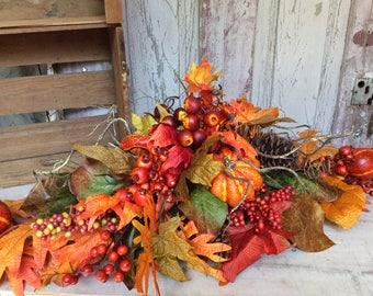 Fall Centerpiece ,Thanksgiving Centerpiece, Fall table arrangement,Table centerpice for Thanksgiving,Fall arrangment,Fall floral arrangement