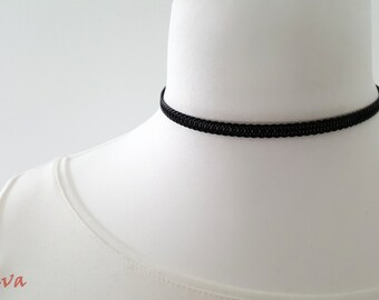 Choker necklace Choker vintage metal black