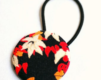 Autumn Leaves Hair Button