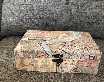 Map of Rome Box