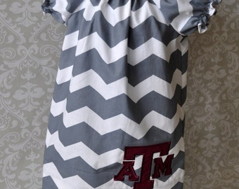 Texas A&M Dress sizes 6 to 10 Girls AD002