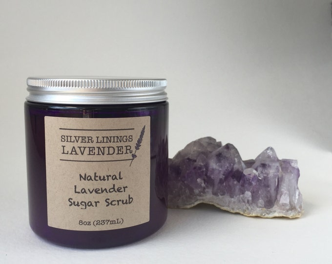 Aromatherapy Lavender Organic Sugar Scrub